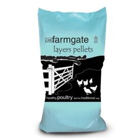 Farmgate Layers Pellets, for Chickens and other Birds (20kg)
