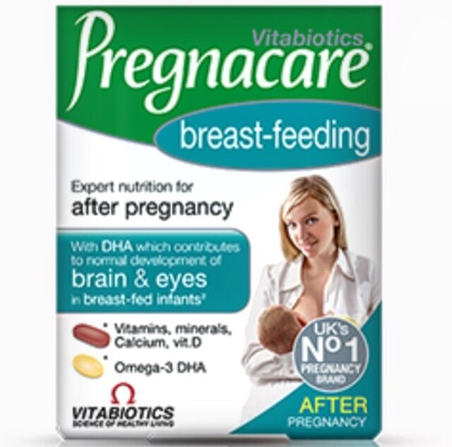 Vitabiotics Pregnacare - Breast Feeding - 84 capsules/Tablets