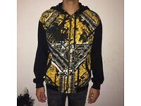 Mens Versace zip hoodie