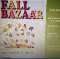 ***FALL BAZAAR VENDORS WANTED***
