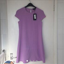 Pretty little thing purple waffle dress