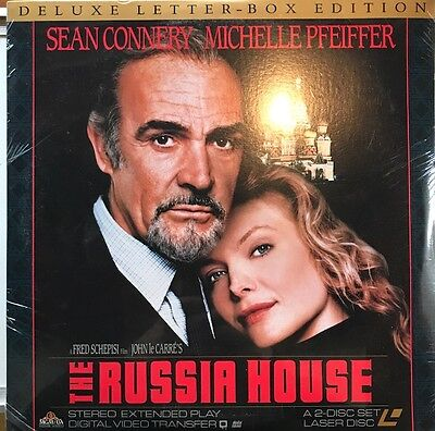 The Russia House (Laserdisc, 1991) Sean Connery *Brand New* * Free Shipping*