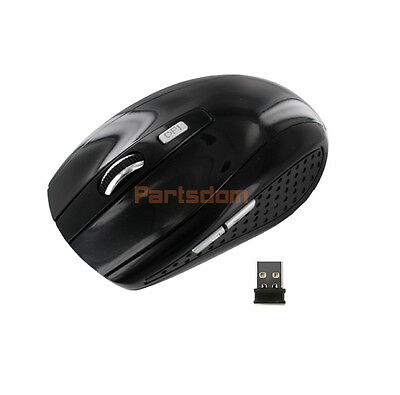 2.4g Wireless Optical Mouse/mice Blue + Mini Usb Receiver For Pc Laptop Notebook