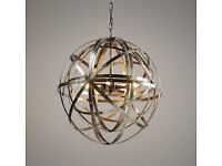 Pewter Pendant Light / Chandelier