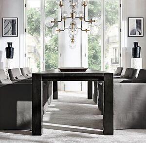 RH Parsons Table (Solid Reclaimed Russian Oak wood