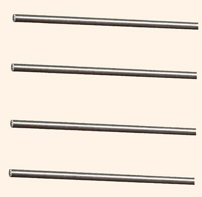 Stainless Steel Spring Round Stock 4 - Lengths 18 X 1 Ft 302 Alloy Rods