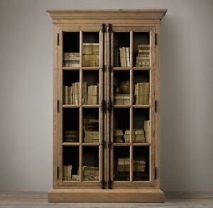 Restoration Hardware -FRENCH CASEMENT DOUBLE-DOOR CABINET