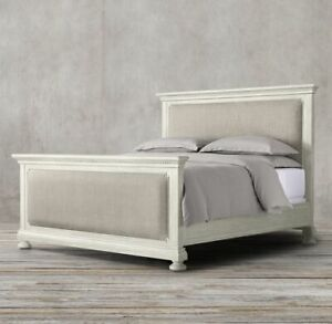 Restoration Hardware Queen St. James Panel Bed with Footboard