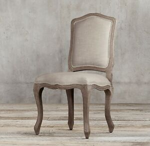 6x Restoration Hardware Dining Room Side Chair