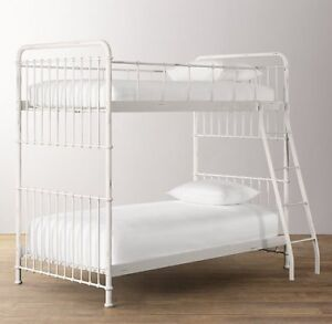 RESTORATION HARDWARE BABY AND CHILD - MILLBROOK IRON BUNK BED