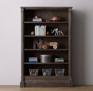 Restoration Hardware Jourdan Large Bookcase for Nursery Bedroom