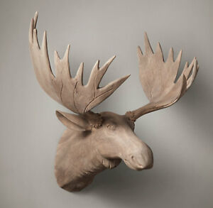 Looking for a hand-carved wood moose head (Restoration Hardware)