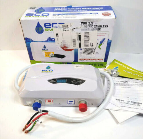 EcoSmart POU 3.5 Electric Tankless Water Heater - Point of Use, Sink 3.5 kW