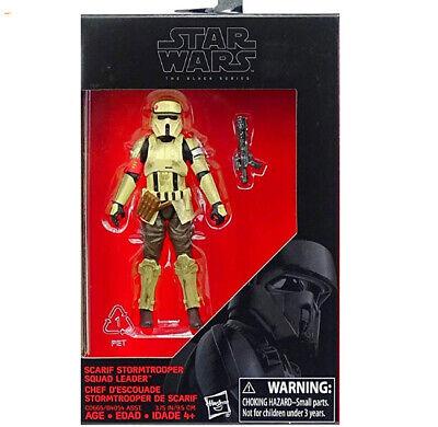 Star Wars Seal (Star Wars Scarif Stormtrooper Squad Leader Action Figure The Black Series)