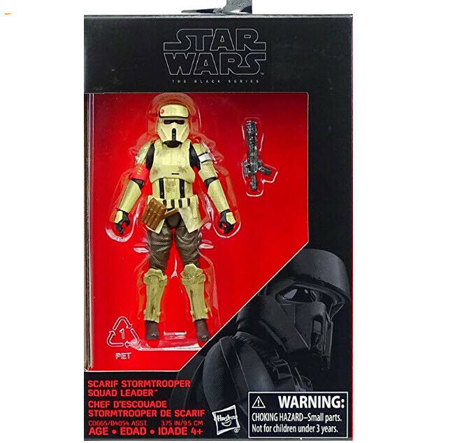 Star Wars Hasbro Black Series SCARIF STORMTROOPER LEADER 3.