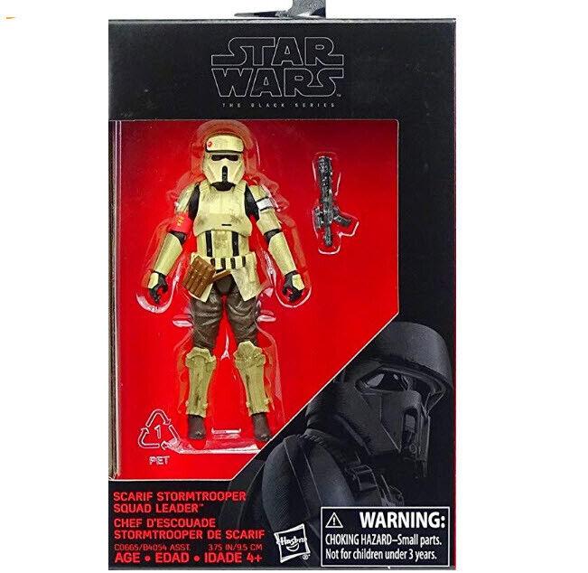 Star Wars Hasbro Black Series SCARIF STORMTROOPER LEADER 3.7