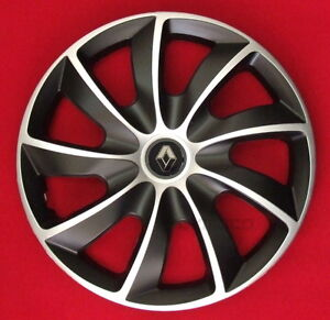 15 renault clio megane modus kangoo wheel trims covers hub caps 4 x15 39 39 ebay. Black Bedroom Furniture Sets. Home Design Ideas