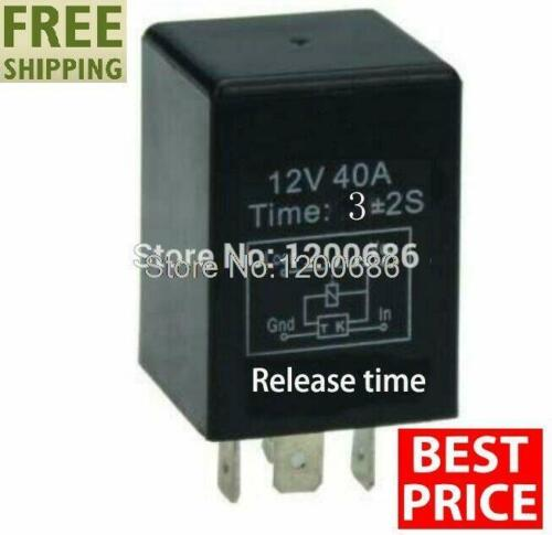 Time Delay Relay 12v Automotive Automatic 5s 10s 1min 5min 10min Switch Turn Off