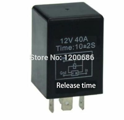 Auto Time Delay Relay 12v Automotive 10 Second Times Delay Relay 30a Off Delay
