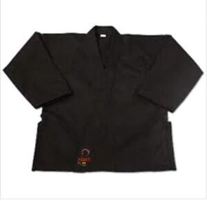 KARATE COAT, MEDIUM WEIGHT,WITH BELT. 60%OFF SPECIAL DISCOUNT FOR MARTIAL ARTS CLUBS (9050 364`04400 WWW.FIGHTPRO,CA