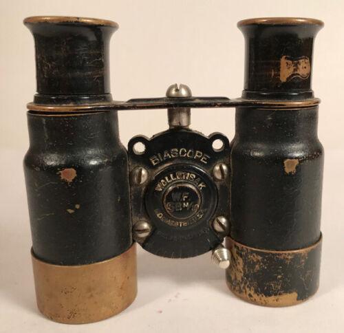 Biascope Binoculars, Wollensak, Rochester, USA