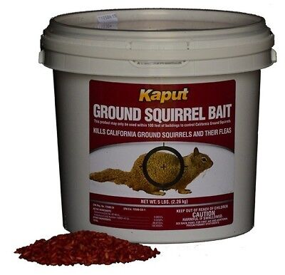 Kaput Ground Squirrel Poison Bait 5#- Diphacinone