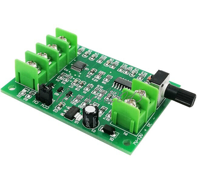 DC 7V-12V Brushless Driver Board Controller For Hard Drive Motor 3/4 Wire New