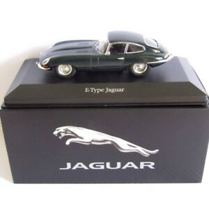 ATLAS EDITIONS - JAGUAR E-TYPE - GREEN - 1/43 SCALE - BRAND NEW IN BOX.