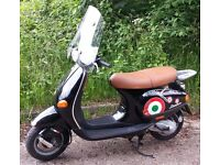 Vespa ET2 50cc two stroke twist and go, 14k miles with Mot 27th Sept, starts easily rides great