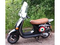 Vespa ET2 50cc two stroke twist and go, 14k miles, Mot 27th September, starts easily rides great