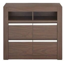 Alma Compact 4 Drawer Sideboard ( Flat Pack ) 40% Off