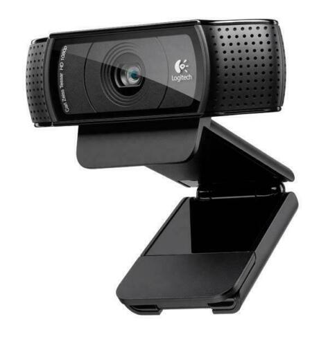 Logitech C920 Full HD 1080p WebCam Live Streaming Shows Video Chat OBS Web Cam