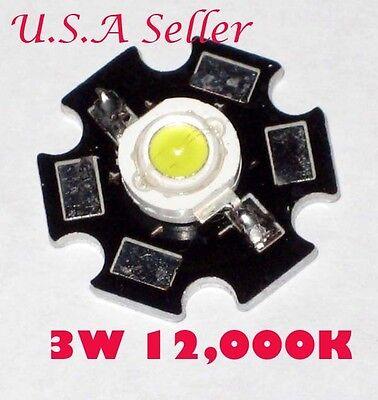 3w High Power White 12000k Led Diy Item