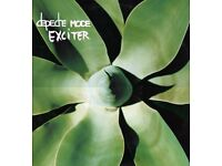 Depeche Mode 'EXCITER' album on vinyl