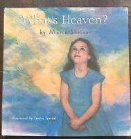 "Like New, ""What's Heaven?"" Book. $6.00"