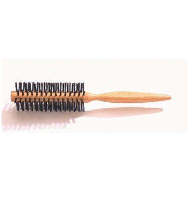Denman D32S - Small Curling Wooden Hairbrush