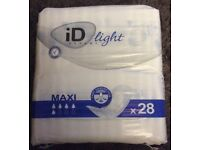 Incontinance Pads £1 per pack