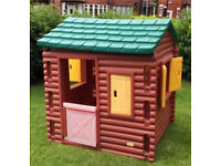 Little Tikes Log Cabin Playhouse Can Deliver 40mile,Roundhay LS8