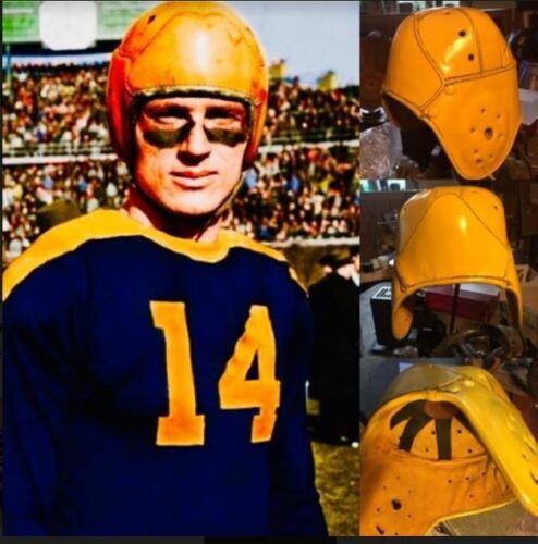 1940 Don Hutson  Replica Full Size leather football helmet Greenbay