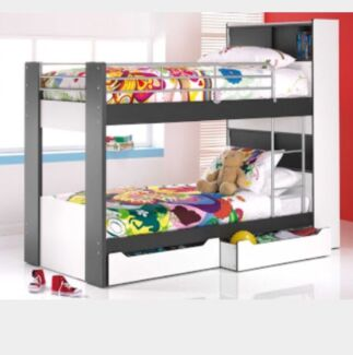 Bunk bed with shelves Westminster Stirling Area Preview