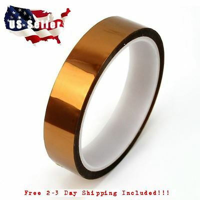 20mm 2cm X 30m 100ft Kptn Tape 3d Printer Polyimide High Temperature Tape St