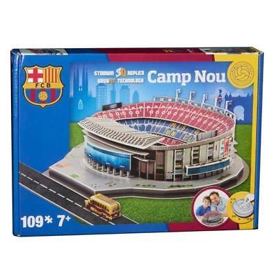 CAMP NOU BARCELONA Stadio 3D Modello Puzzle (109 pezzi)