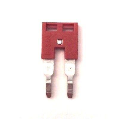 Din Rail Terminal Block Jumpers 50 Quantity Dss4n-02p Dinkle 10 Awg 2 Pole Dk4n