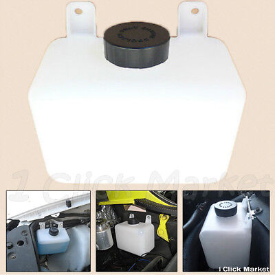 COOLANT RESERVOIR BOTTLE Overflow Recovery Truck Universal Tank Radiator Parts ()