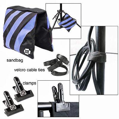Sandbags Photography  Velcro Ties Photo Clamps Steve Kaeser