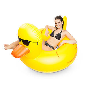 Giant Rubber Duckie Pool Float! By Big Mouth Toys Peterborough Peterborough Area image 1