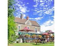 Bar staff, couple or single with live in or out required for gorgeous riverside pub
