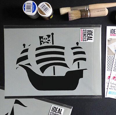 one Nautisch Heim Tapete Farbe Dekor Kunst Handwerk Ideal (Piratenschiff Dekor)