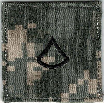 ACU Army E3 PFC Private 1st Class Rank Insignia Not MILSPEC Movie Prop Patch