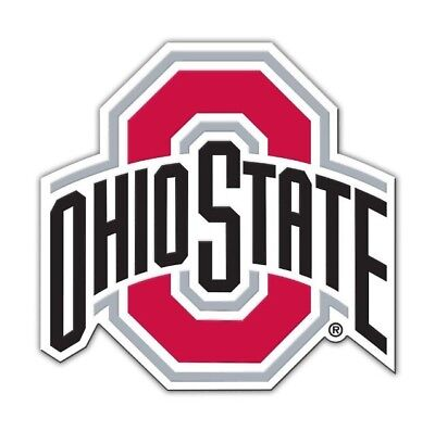 "Ohio State Buckeyes OSU Team  Logo 4"" Magnet Car Truck Decoration Decal"